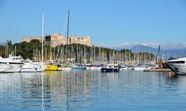 ANTIBES IN FRANCE Royalty Free Stock Images