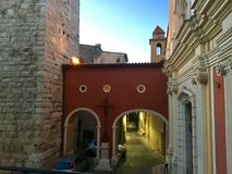 Antibes, France. Vacation in France, old town royalty free stock photography