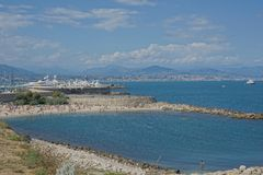 Antibes, Francia Fotografia Stock Libera da Diritti