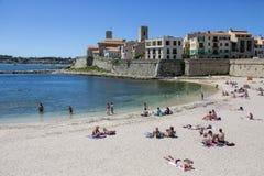 Antibes - Francuski Riviera - Południe Francja Zdjęcie Royalty Free