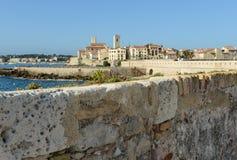 Antibes Frankrike Arkivbild