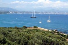 Antibes, Franse Riviera stock foto's