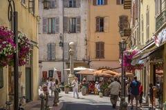 Antibes - franska Riviera - söder av Frankrike Royaltyfri Foto