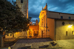 Antibes, French Riviera, France: Church of the Immaculate Conception Royalty Free Stock Photos