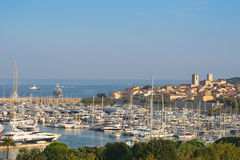 Antibes on the French Riviera Royalty Free Stock Photo