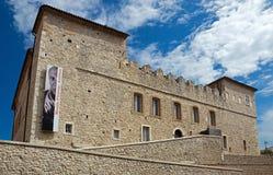 Antibes - Grimaldi Castle stock photos