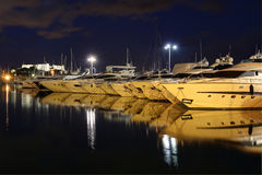 Antibes Harbor Stock Image
