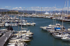 Antibes Harbor - South of France Royalty Free Stock Image