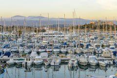 Antibes Harbour in South of France Royalty Free Stock Images