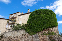Antibes - Old stone house Stock Photos