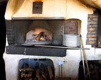 Antibes old stove Royalty Free Stock Photo