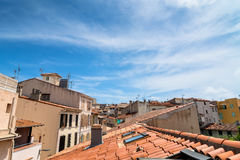 Antibes old town rooftop view and skyline Stock Image