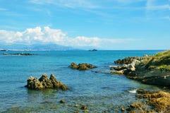 Antibes pittoresca Fotografie Stock Libere da Diritti