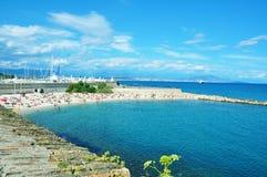 Antibes pittoresca Immagini Stock Libere da Diritti