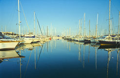 Antibes port Royalty Free Stock Images