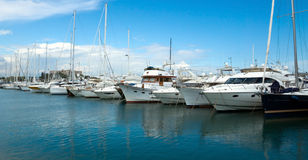 Antibes - Sailboats Royalty Free Stock Images