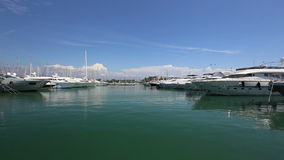 Antibes schronienia Francja Cote d'Azur zdjęcie wideo