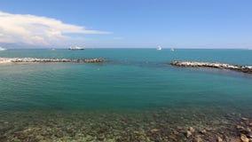 Antibes schronienia Francja Cote d'Azur zbiory wideo