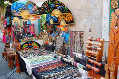 Antibes - souvenirs Royalty Free Stock Image