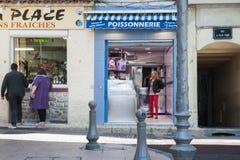 Antibes street. Stock Photos