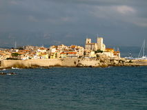 Antibes at sunrise Stock Photography