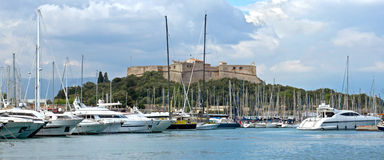 Antibes - Yachts Stock Photos