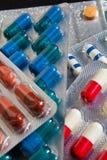 Antibióticos fotografía de archivo libre de regalías