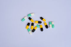 Antibiotic resistance concept Stock Photography