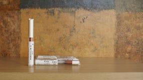 Antibiotische Scheiben - Laborverwendung Lizenzfreies Stockbild