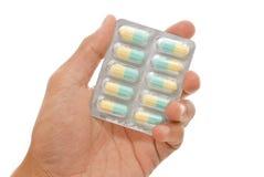 antibiotisk medicin arkivbilder