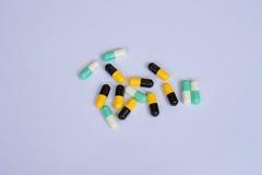 Antibiotiskt motståndsbegrepp Arkivbild