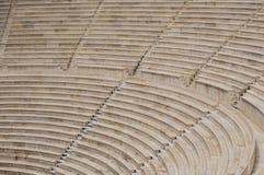 antic θέατρο της Αθήνας Στοκ Εικόνα