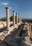 Antic καταστροφή της Κύπρου Ελλάδα Στοκ εικόνα με δικαίωμα ελεύθερης χρήσης