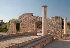 Antic καταστροφή της Κύπρου Ελλάδα Στοκ φωτογραφία με δικαίωμα ελεύθερης χρήσης