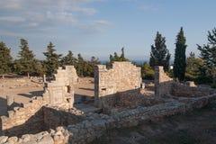Antic καταστροφή της Κύπρου Ελλάδα Στοκ εικόνες με δικαίωμα ελεύθερης χρήσης