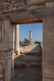 Antic καταστροφή της Κύπρου Ελλάδα Στοκ Φωτογραφίες