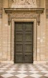 antic κλασσική κλειστή πόρτα Στοκ εικόνες με δικαίωμα ελεύθερης χρήσης