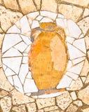 antic μωσαϊκό αμφορέων Στοκ Φωτογραφία