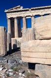 antic ναός της Αθήνας ακρόπολη pa Στοκ Εικόνα