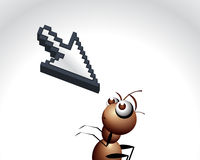 Antic Ant Character Royalty Free Stock Photo