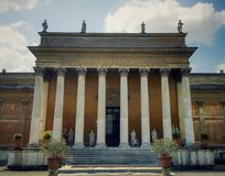 Antic building. In Vatican city, Italy. Historic museum Stock Photography
