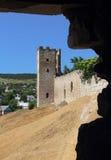 Antic castle at Feodosia Royalty Free Stock Photo
