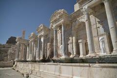 Antic fontain in Sagalossos, antic stad Stock Fotografie