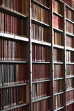 Antic library Stock Image