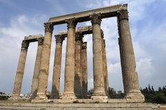 Antic monument in Greece Stock Photos