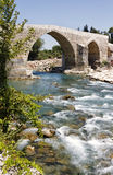 Antic Roman bridge Stock Image