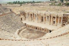 Antic Theater Pamukkale in der Türkei Stockfotos