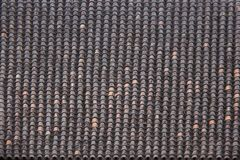Antic Tile texture on the roof of an old Turaida castle in Latvia. Architecture background Stock Photography
