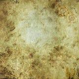 Antica carta steampunk Sfondo Стоковое фото RF