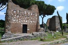 Antica de Appia Fotografia de Stock